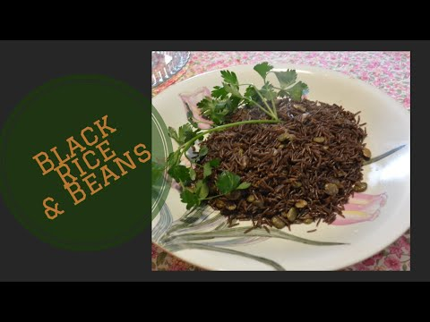 how to make black rice