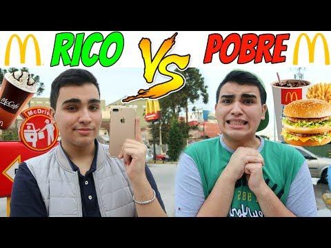 RICO VS POBRE NO MCDONALD