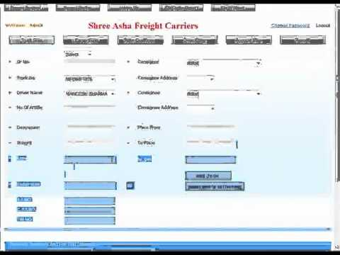 Web Based Transportation Software Logistics Management