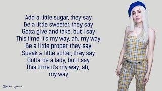 Ava Max - My Way (Lyrics) 🎵