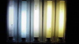Cómo funcionan los tubos fluorescentes