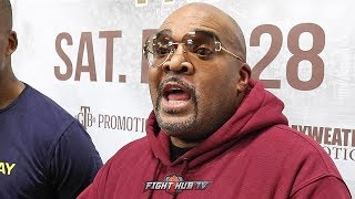 LEONARD ELLERBE FEELS ANDY RUIZ MESSED UP! SAYS JOSHUA BOXING IS NOT WHAT FANS WANT TO SEE