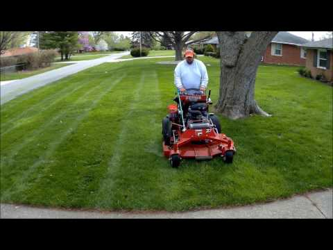 "Lawn Care 4 Life #35  ""Perfect weather, talking about my striper attachment"""