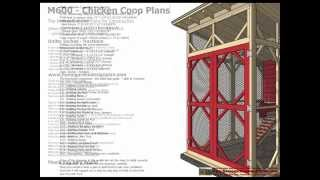 M600 - Chicken Coop Plans Construction - Chicken Coop Design - How To Build A Chicken Coop