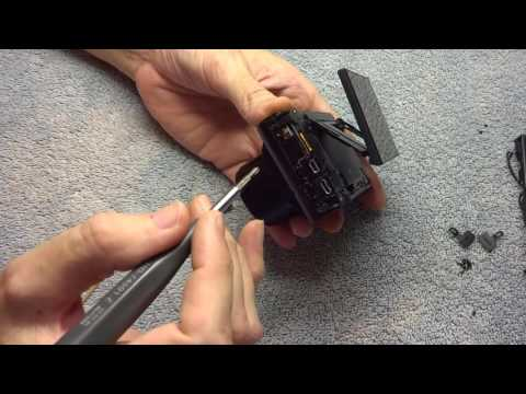 Sony RX100 M3 lens replacement tear down