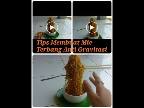 How to make flying noodle