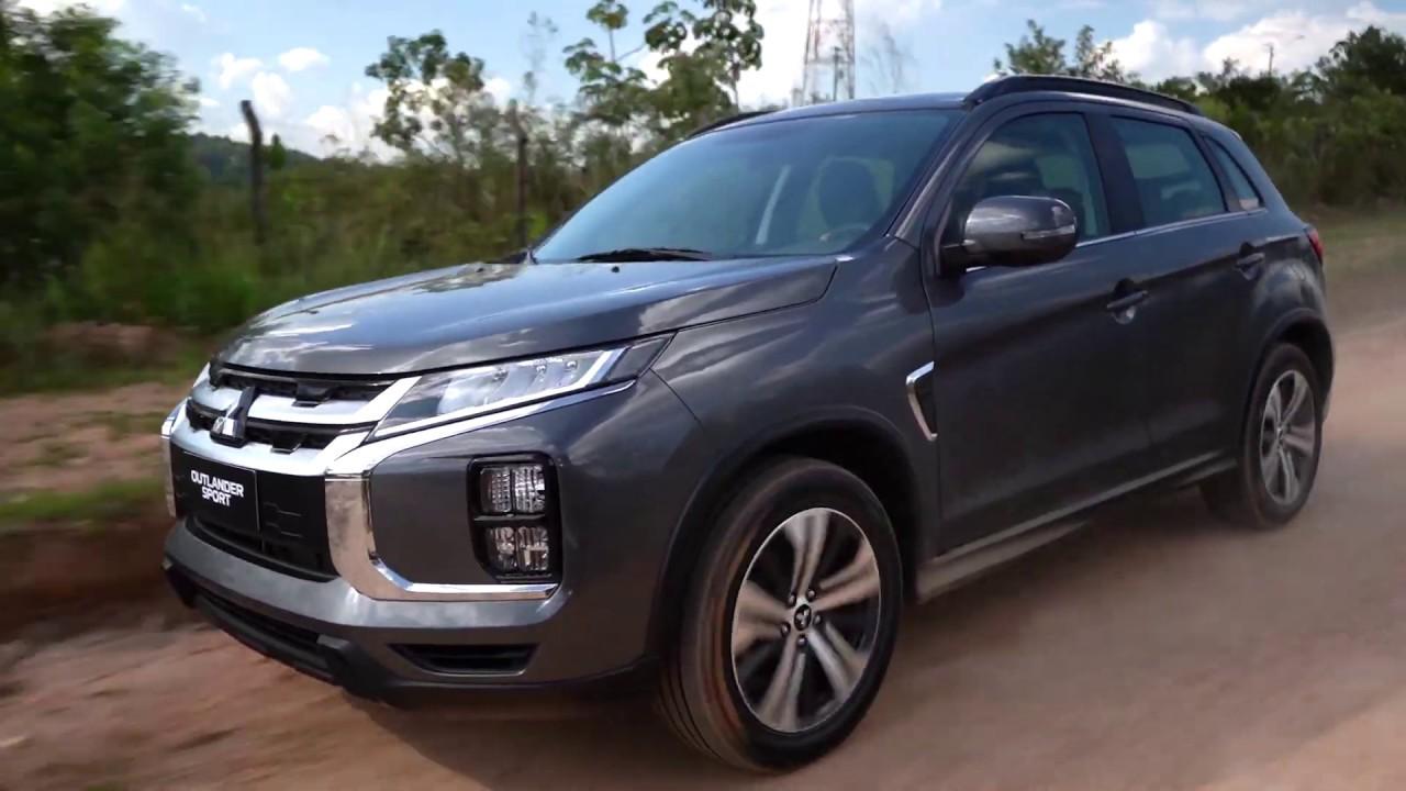 mitsubishi outlander sport 2021  carros na web  youtube