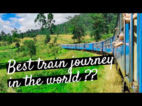 Kandy to Ella – BEST TRAIN RIDE IN THE WORLD? | Vlog #3 [SRI LANKA Travel Guide]