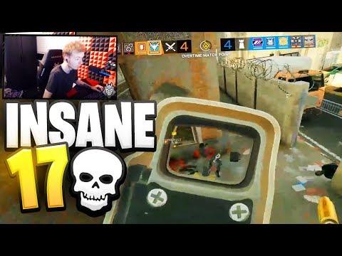 INSANE 17 KILL GAME - RAINBOW SIX SIEGE