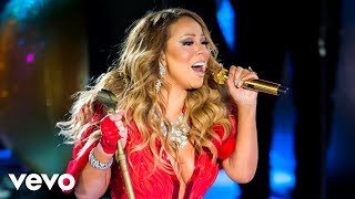 mariah carey all i want for christmas is you live in rockefeller center 2014