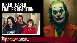 JOKER Teaser Trailer - Nadia Sawalha & The Popcorn Junkies Family Movie Reaction