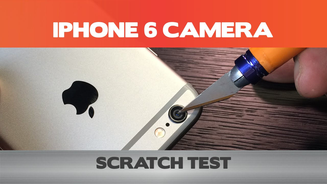 iphone 6 test how tough is the iphone 6 lens scratch test 11429