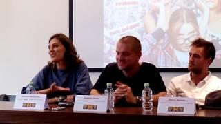 Канал ТНТ представил киносериал «Кризис нежного возраста»в Петербурге(4)
