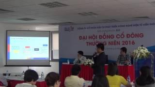 Ông Phan Chiến Thắng(Chủ Tịch HĐQT) - Trình bày trong ĐHCĐ thường niên ELCOM 2016