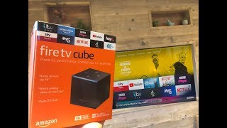 Amazon Fire TV Cube 2019 VERSION with Amazing Voice Control | Unboxing u0026 Review