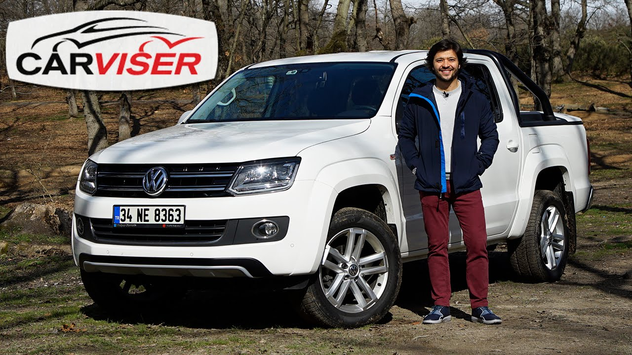vw amarok 2 0 bitdi 4x4 at test s r review english subtitled youtube. Black Bedroom Furniture Sets. Home Design Ideas