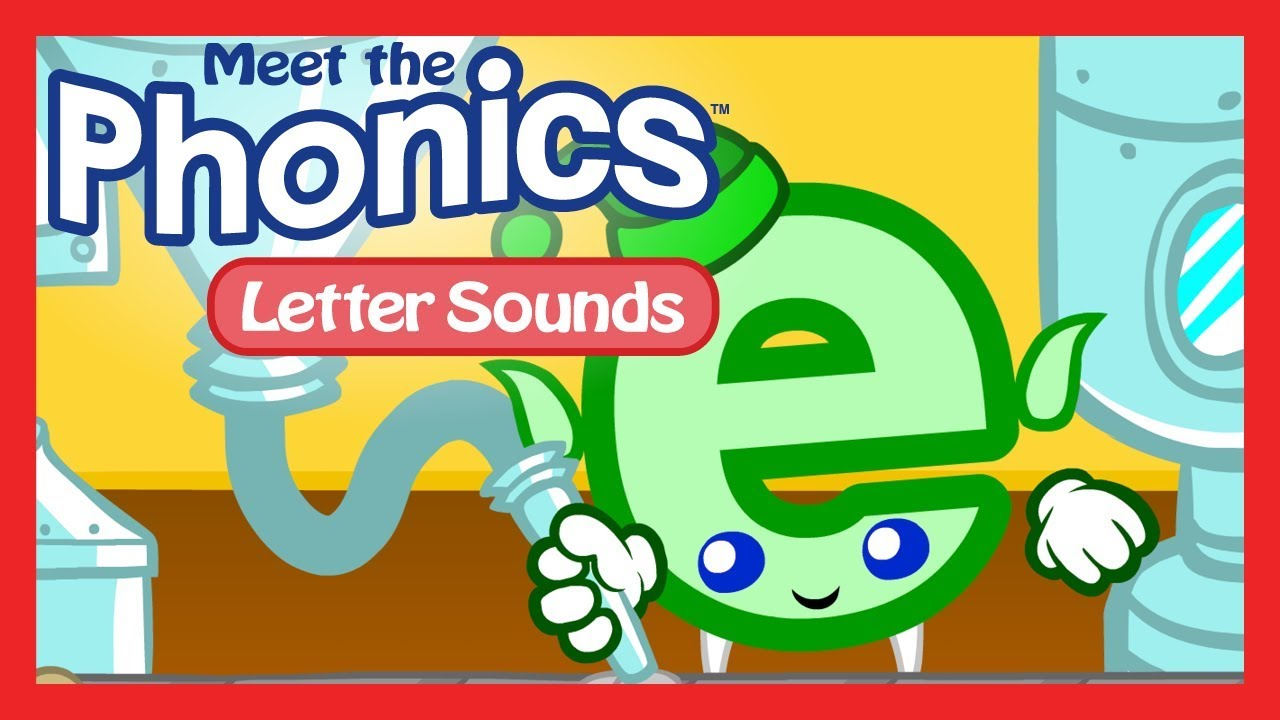Meet the Phonics Letter Sounds   e   YouTube