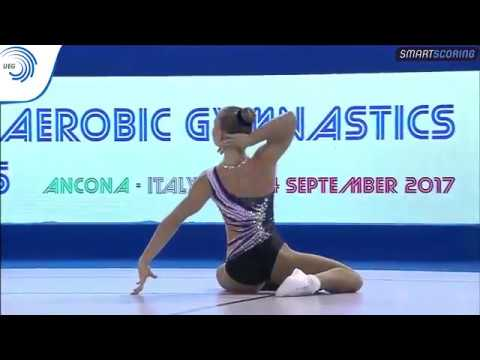 REPLAY: 2017 Aerobics Europeans - Junior FINAL Individual Women, plus medal ceremony