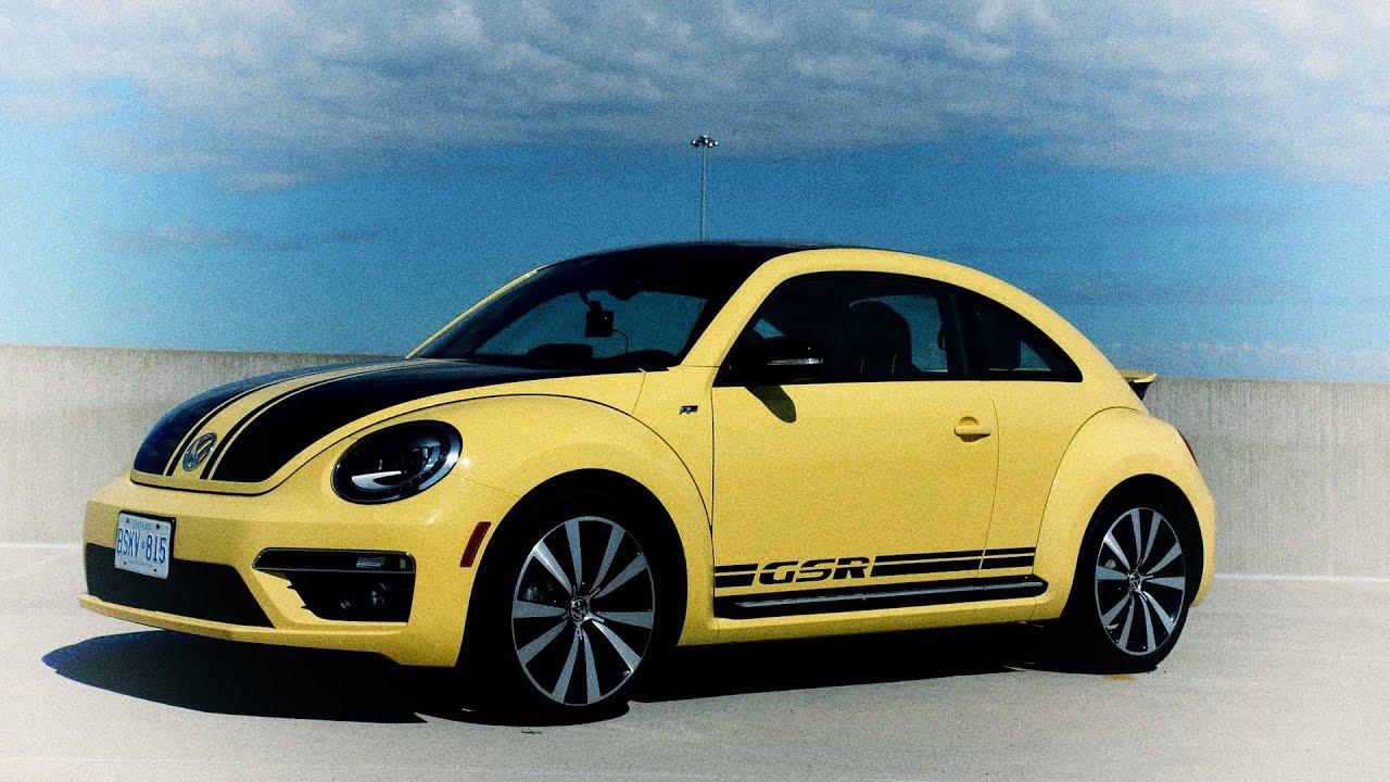 2014 VW Beetle GSR DSG Review - YouTube