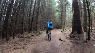 Dalby Forest - Red Loop (Quick) 31.08.20 - Hyperlapse
