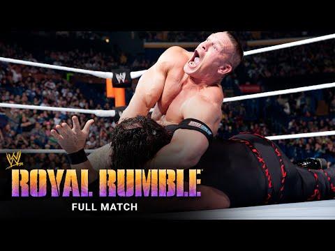 FULL MATCH - John Cena vs. Kane: Royal Rumble 2012
