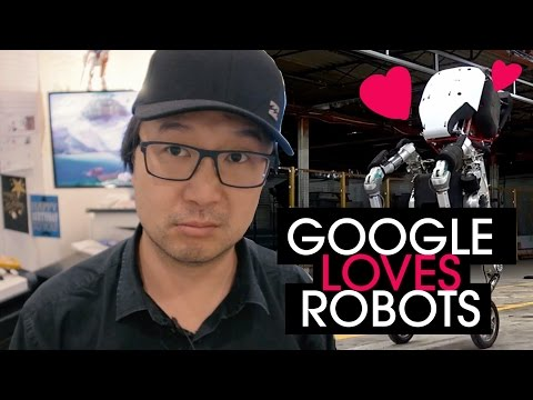 Is Google in love with Robots?