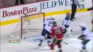 Roman Cervenka wicked wristah goal 1-0 Mar 24 2013 St. Louis Blues vs Calgary Flames NHL Hockey