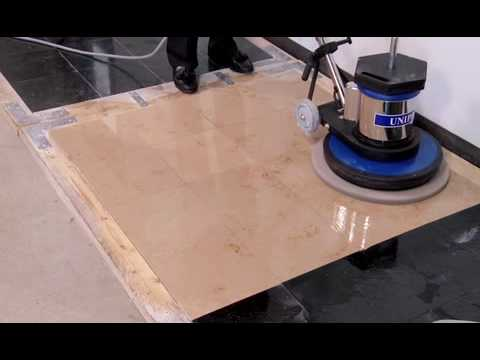 How To Polish Stone Floors Using Diamond Polishing Pads Jon Don Video You