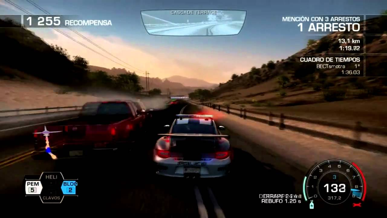 need for speed hot pursuit gameplay porche patrol. Black Bedroom Furniture Sets. Home Design Ideas