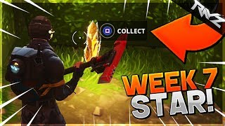 Follow The Treasure Map Found In Retail Row! Week 7 Battle Star Location! - Fortnite: Battle Royale