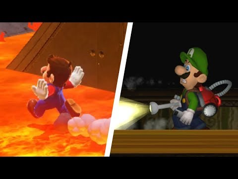 10 Crazy Glitches in Mario Games (1981 - 2018)