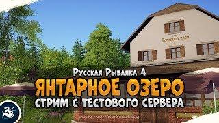 Янтарное озеро Продолжаем изучать новый водоём Русская Рыбалка 4