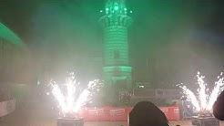 Warnemünder Turmleuchten 01.01.2020 / Start und Anfang der Show