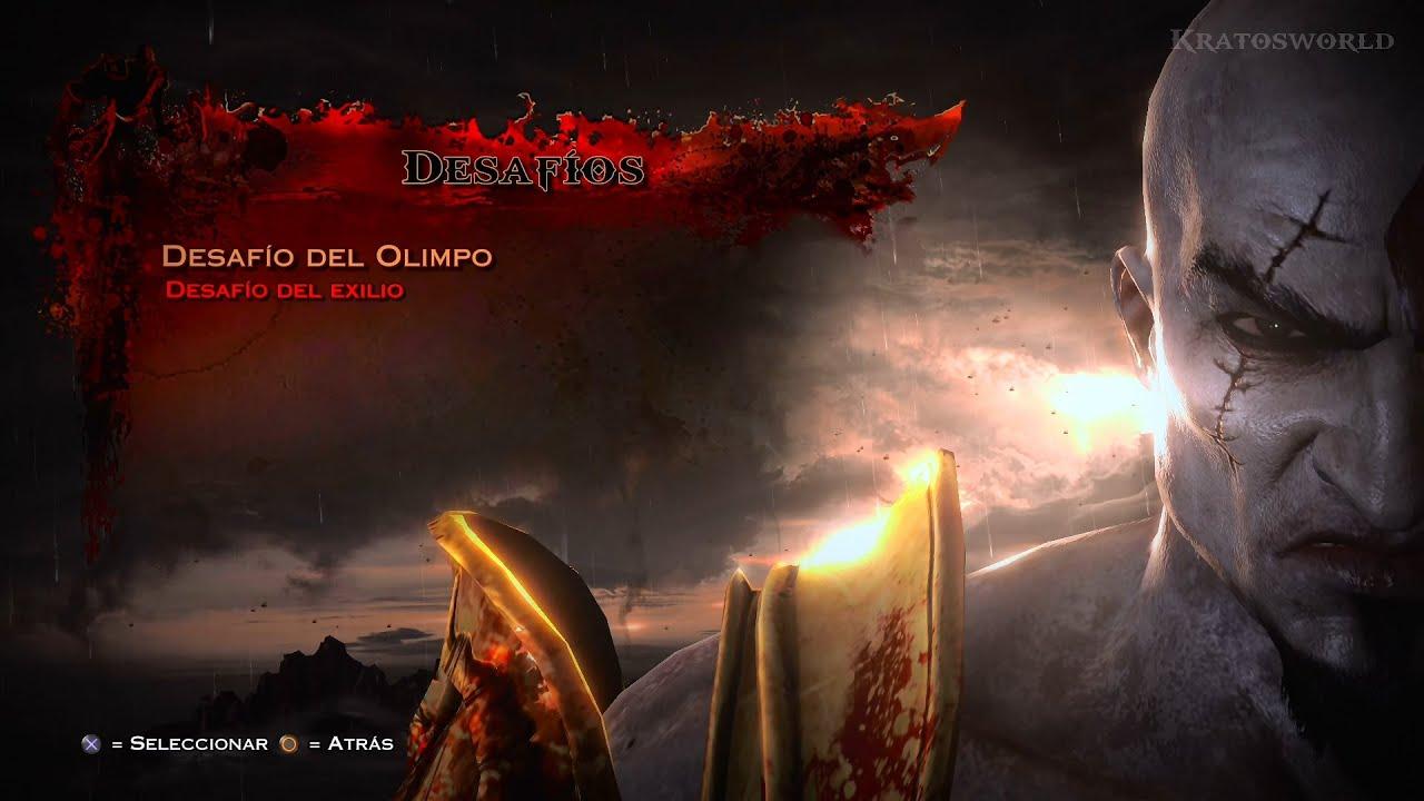 God of war 3 remasterizado desaf o del olimpo 1080p for God of war 3 jardines del olimpo