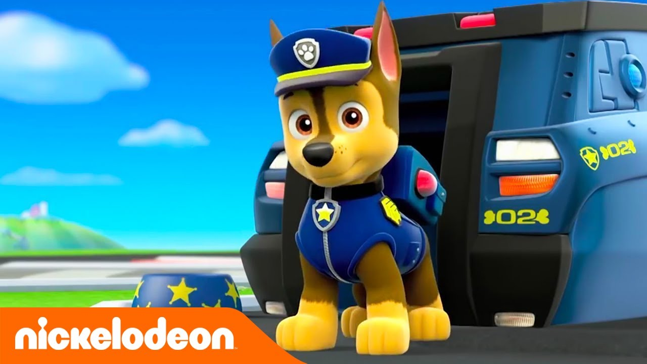 Patrulha Pata Conhece O Chase Nickelodeon Em Portugues Youtube