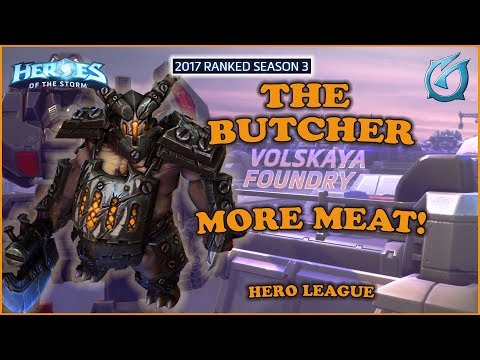 Grubby | Heroes of the Storm - The Butcher - More Meat! - 2017 S3 - Volskaya Foundry
