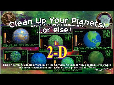 Clean Up Your Planets (#1)(2-D) As seen on EARTHOVISION