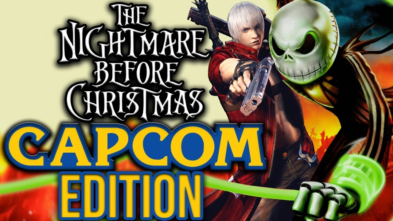 The Nightmare Before Christmas: CAPCOM EDITION - YouTube