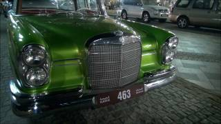 Mercedes 220 SE Classic Car in Dubai, U.A.E Full HD!!!