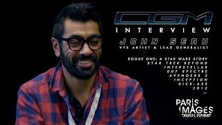 CGM Interviews - John Seru (Rogue One, Star Trek Beyond, Inception)