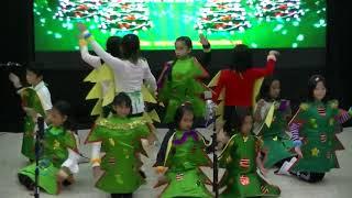 Natal Anak GKI Guntur 2017  Tarian Pohon