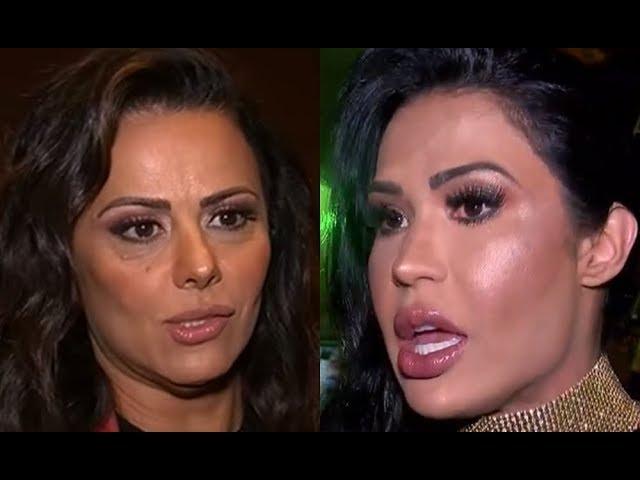 Gracyanne Barbosa revela o quê realmente acha sobre Viviane Araújo, ex de Belo