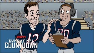 In an NFL Countdown feature that originally aired in 2017, past and present New England Patriots backup QBs Brian Hoyer, Jacoby Brissett, Kliff Kingsbury and ...