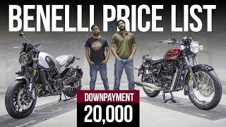 All Benelli Bikes 2021 Price List 🏍️ Ft. Benelli TRK 502X, Benelli Imperiale 400 & Benelli Leoncino🦁