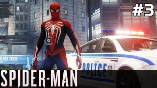 Spiderman PS4 Gameplay PL [#3] NOWY Kostium SPIDERMAN