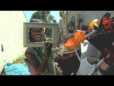 Faces Of Africa - The Junk Art family