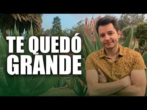 TE QUEDÓ GRANDE