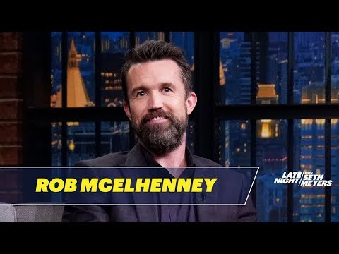 Rob McElhenney Named His Son After Eddie Murphy's Beverly Hills Cop Character