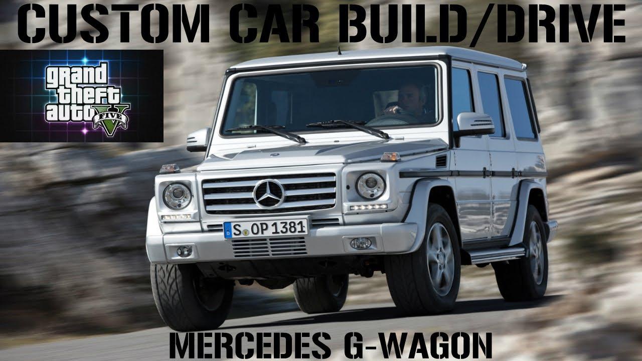 Mercedes Build A G Wagon