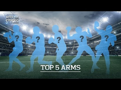Top 5 QB Arms in the NFL | Move the Sticks | NFL